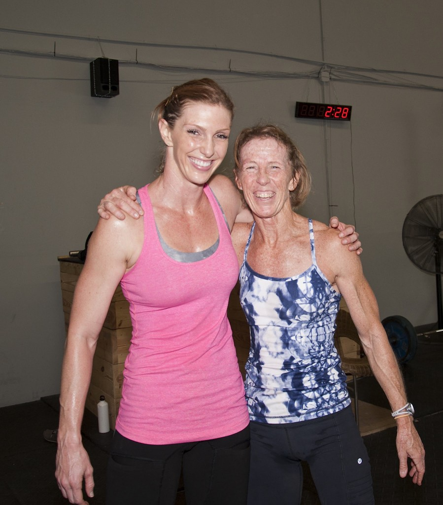 Susan Wallis on the right with her daughter Chrissy Wallis Henry