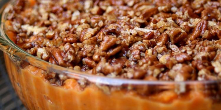 Maple Pecan Sweet Potato Casserole